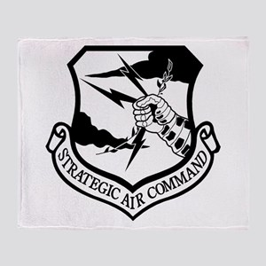 Strategic Air Command Throw Blanket