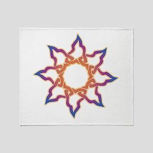 Celtic Star Throw Blanket