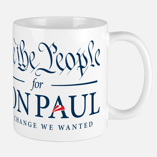 People for Ron Paul Mug