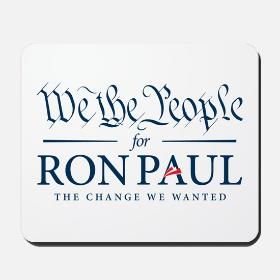 People for Ron Paul Mousepad