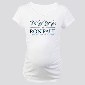 People for Ron Paul Maternity T-Shirt