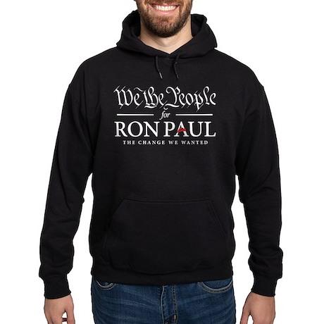 People for Ron Paul Hoodie (dark)