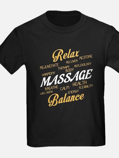 Relax T Shirt, Massage T Shirt T-Shirt