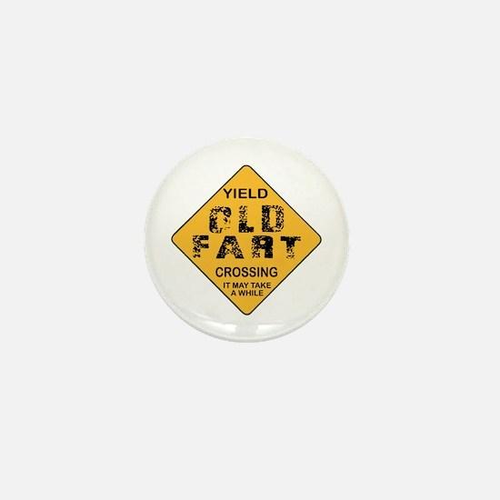 Old Fart Mini Button