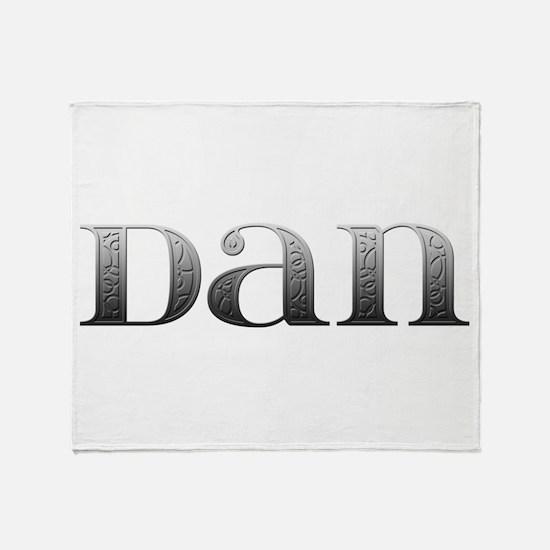 Dan Carved Metal Throw Blanket