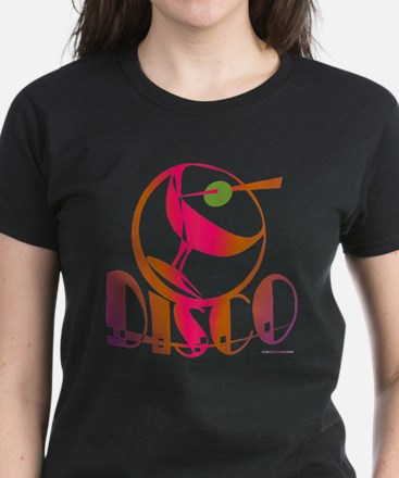 Disco Martini / Women's Dark T-Shirt