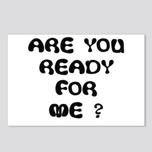ARE U READY FOR ME? Postcards (Package of 8)