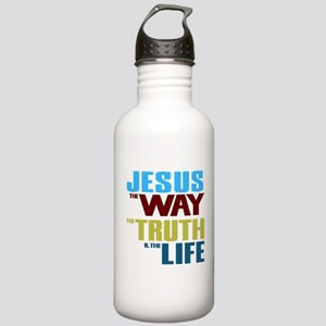 Jesus Way Truth Life Stainless Water Bottle 1.0L