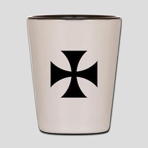 German Iron Cross Shot Glass