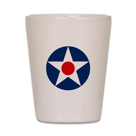 United States Army Air Corp Shot Glass