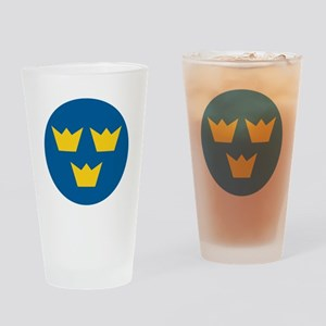 Sweden 1937 Roundel Drinking Glass