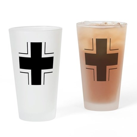 Germany Balkenkreuz Drinking Glass