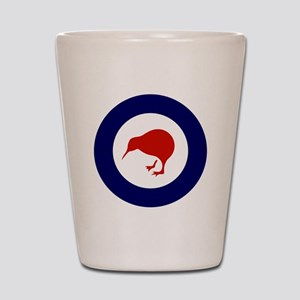 New Zealand Roundel Shot Glass