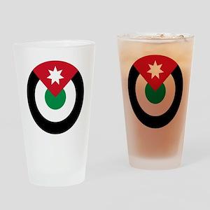 Jordan Roundel Drinking Glass