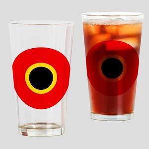 Belgium Roundel Drinking Glass