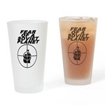 Fear of a Soviet Planet Drinking Glass