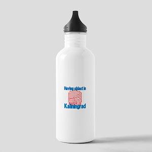 Oblast in Kaliningrad Stainless Water Bottle 1.0L