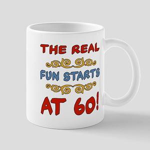 Real Fun 60th Birthday Mug