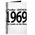 1969 - Man Lands on the Moon Journal