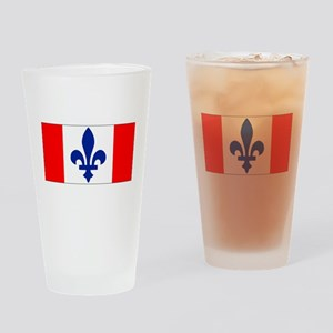 French Canadian Drinking Glass