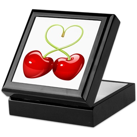 cherry love Keepsake Box