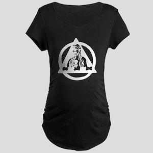6th Bomb Wing Maternity Dark T-Shirt