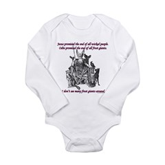 Frost Giant Long Sleeve Infant Bodysuit