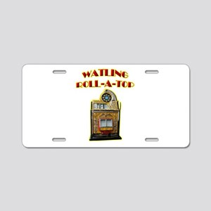 Watling Roll-A-Top Aluminum License Plate