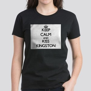 Keep Calm and Kiss Kingston T-Shirt