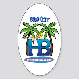 HB Oval Sticker
