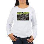 Ninjas vs. Zombies Women's Long Sleeve T-Shirt