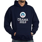 Re-elect Obama 2012 Hoodie (dark)