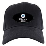 Re-elect Obama 2012 Black Cap