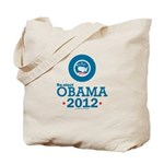 Re-elect Obama 2012 Tote Bag