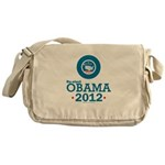 Re-elect Obama 2012 Messenger Bag