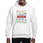 T-Shirt Time! Hooded Sweatshirt
