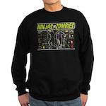 Ninjas vs. Zombies Sweatshirt (dark)