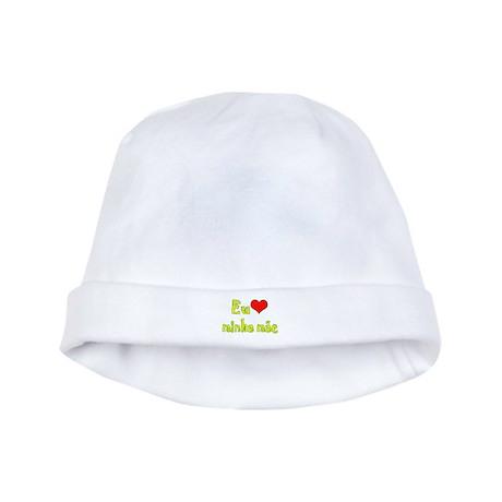 I Love Mom (Port/Brasil) baby hat