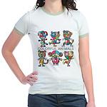 kuuma colorfulall 1 Jr. Ringer T-Shirt