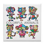 kuuma colorfulall 1 Tile Coaster