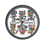 kuuma colorfulall 1 Wall Clock