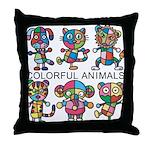 kuuma colorfulall 1 Throw Pillow