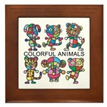 kuuma colorfulall 1 Framed Tile