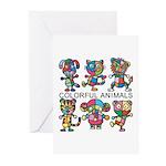 kuuma colorfulall 1 Greeting Cards (Pk of 10)