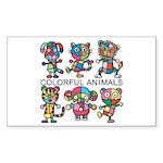 kuuma colorfulall 1 Sticker (Rectangle)