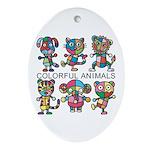 kuuma colorfulall 1 Ornament (Oval)