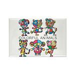 kuuma colorfulall 1 Rectangle Magnet (100 pack)