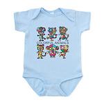 kuuma colorfulall 1 Infant Bodysuit