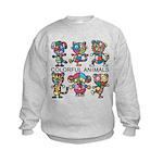 kuuma colorfulall 1 Kids Sweatshirt