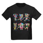 kuuma colorfulall 1 Kids Dark T-Shirt